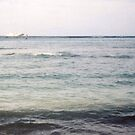Looking Off Waikiki Into The Pacific Blue by Bearie23