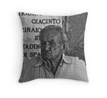 Procidan senior citizen. Throw Pillow