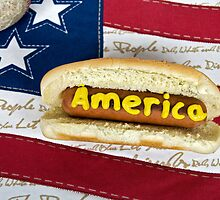 American Dog by Maria Dryfhout