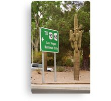 Route 66 - Kingman, Arizona Canvas Print