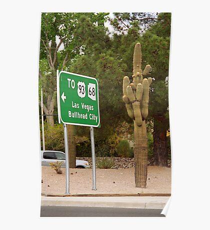Route 66 - Kingman, Arizona Poster