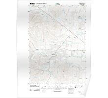 USGS Topo Map Oregon Dallas 20110831 TM Poster