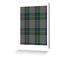00771 Barcelona English School Tartan Greeting Card