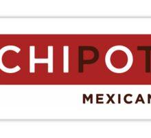 CHIpOtle Big Logo Sticker