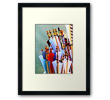 Nocking the arrows Framed Print