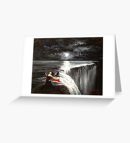Dark Falls Greeting Card