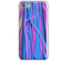 Colorful candies at the market iPhone Case/Skin