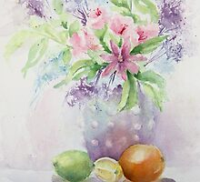 Flowers and Fruit by Bobbi Price