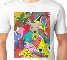 Doodles All Over Unisex T-Shirt