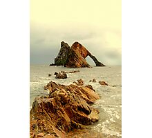Bow Fiddle Rock Photographic Print