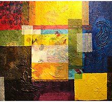 Layered Cubes Photographic Print