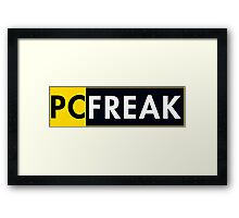 Pc Freak Framed Print