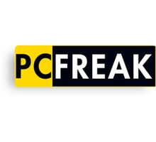 Pc Freak Canvas Print