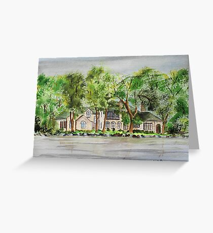 Lake Estate Greeting Card