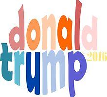 Donald Trump 2016 by ArtByRuta