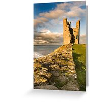 The Tower, Dunstanburgh Castle Greeting Card