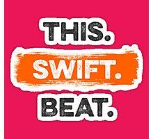 This Swift Beat Photographic Print