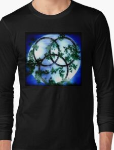 Trinity-Triple Goddess Long Sleeve T-Shirt