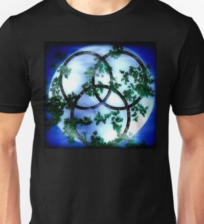 Trinity-Triple Goddess Unisex T-Shirt