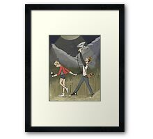 Dream Date Framed Print
