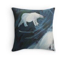 Artic Night Throw Pillow