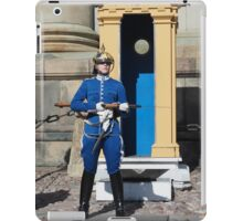 Female guard iPad Case/Skin