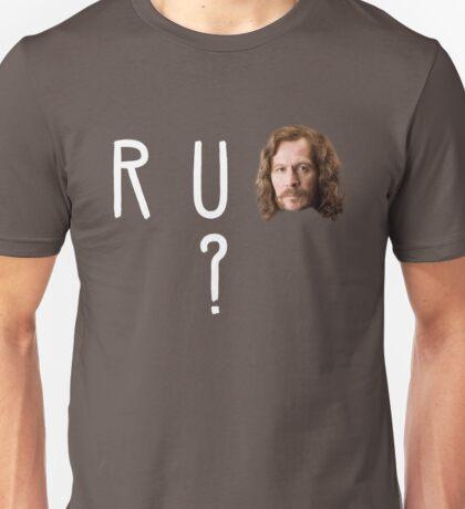R U SIRIUS? Unisex T-Shirt