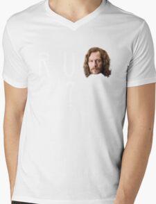 R U SIRIUS? Mens V-Neck T-Shirt