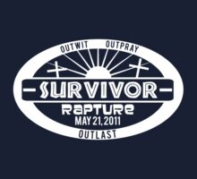 I survived and all I got was this Lousy T-Shirt - White by slicepotato
