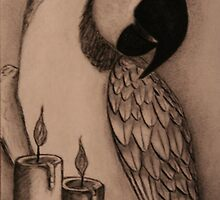 A memory in candle light by Rebecca Lee Means