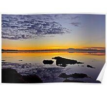 Coastal Sunrise. (21-5-11) Poster
