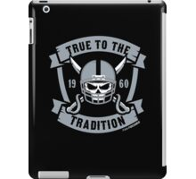 True to the Tradition iPad Case/Skin