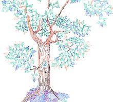 Tesselated Tree by Regina Valluzzi