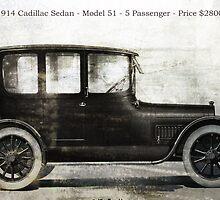 1914 Cadillac Sedan by garts