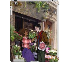 merwen flower shop au iPad Case/Skin