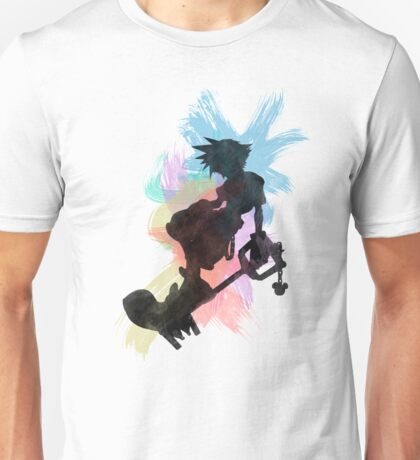 Kingdom Hearts: Watercolor Sora Unisex T-Shirt