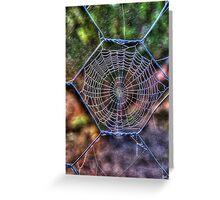The Cobweb Greeting Card