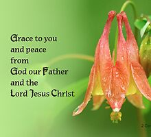 Grace to you ~ 2 Corinthians 1:2 by Robin Clifton