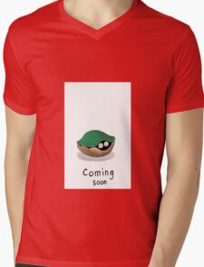 Coming Soon for mothers Mens V-Neck T-Shirt