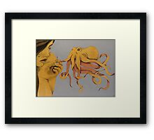 Curious and Curiouser Framed Print