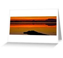 The Rising Sun.(21-5-11) Greeting Card