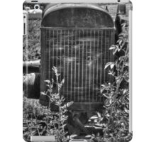 Abandon Tractor iPad Case/Skin
