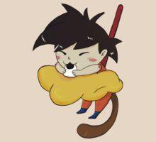 Hungry goku by lunaticpark
