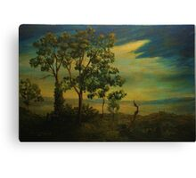 Old World Landscape  Canvas Print