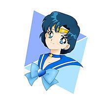 Super Sailor Mercury Photographic Print