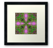 Celtic Kaleidoscope Framed Print
