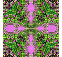 Celtic Kaleidoscope Photographic Print