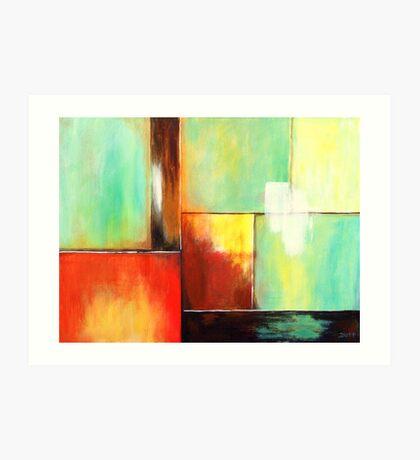 Glass Houses XI Art Print