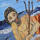 King Neptune Semaphore (Mosaic) by Scott Schrapel