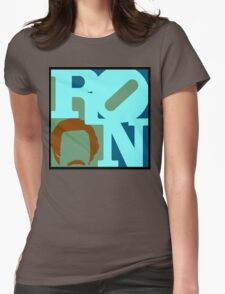 Ron Love (c) (Anchorman) Womens Fitted T-Shirt